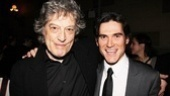 Twice is nice! Tom Stoppard is glad to see Billy Crudup return to Arcadia for its second Broadway production. 