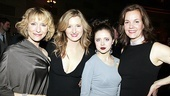 Presenting the lovely ladies of Arcadia: Lia Williams, Grace Gummer, Bel Bowley and Margaret Colin.