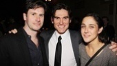 Josh Hamilton and Lily Thorne sandwich Arcadia's leading man Billy Crudup.