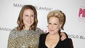 It's a mother-daughter evening at the theater for Bette Midler and Sophie von Haselberg.