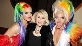 Priscilla opens – Vanity Fair – Joan Rivers – Courtney Act