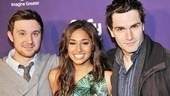Syfy Stars at &lt;i&gt;Spider-Man, Turn off the Dark&lt;/i&gt; - Sam Huntington  Meaghan Rath  Sam Witwer