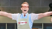 Christopher J. Hanke as Bud Frump in How to Succeed in Business Without Really Trying.