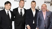 Mormon opens-  Robert Lopez - Trey Parker - Matt Stone- Casey Nicholaw