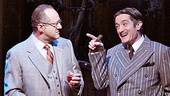 Adam Grupper as Mal Beineke and Roger Rees as Gomez in The Addams Family.