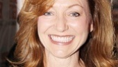 Tony winner Julie White shows off her pearly whites.