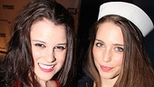 Anything Goes Opening Night Alexandra Socha  Jessica Rothenberg
