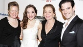 Kathleen Marshall, Laura Osnes, Jessica Walter and Colin Donnell all have a lot to be proud of on this opening night.
