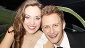 Anything Goes Opening Night  Laura Osnes  Nathan Johnson 