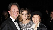 Catch Me If You Can Opening Night  Willa Kim  Sarah Jessica Parker  William Ivey Long