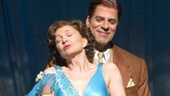 Donna Murphy as Bubbie and Christopher Innvar as Chaim in People in the Picture.