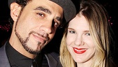 Motherf**ker Opening Night  Bobby Cannavale  Lily Rabe