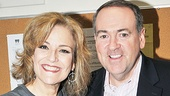 Mike Huckabee at <i>Wonderland</i> - Karen Mason - Mike Huckabee