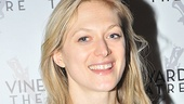 Three Sisters vet and Tony nominee Marin Ireland smiles for our camera.