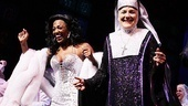 Patina Miller and her Mother Superior, played by Victoria Clark, share the show's spotlight.