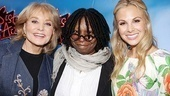 Sister Act Opening Night   Barbara Walters -  Whoopi Goldberg  Elizabeth Hasselbeck