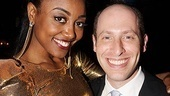 Sister Act Opening Night   Patina Miller  Jeffrey Katz