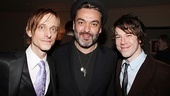 Mackenzie Crook and John Gallagher Jr. sandwich Jerusalem playwright Jez Butterworth.