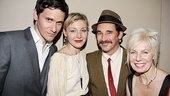 Its a family affair at Jerusalems party for Christian Camargo, wife Juliet Rylance, her stepfather Mark Rylance and his wife Claire van Kampen. 