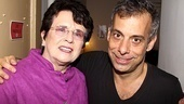 Billie Jean King at The Normal Heart – Billie Jean King – Joe Mantello