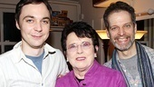 Billie Jean King at The Normal Heart – Jim Parsons – Billie Jean King – Patrick Breen