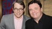 House of Blue Leaves Opening Night  Matthew Broderick  Nathan Lane