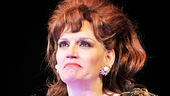 Baby It's You! leading lady Beth Leavel shows her emotions during the show's opening night curtain call.