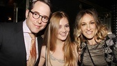 The Normal Heart Opening Night  Matthew Broderick  Billie Lourd  Sarah Jessica Parker 