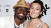 The Normal Heart Opening Night – Taye Diggs – Laura Benanti