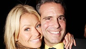 The Normal Heart Opening Night  Kelly Ripa  Andy Cohen 