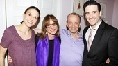 Heartthrob Colin Donnell (Billy Crocker) joins Sutton Foster, Patti LuPone and Joel Grey for a snapshot.