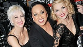 Chicago's leading ladies Amra-Faye Wright, Roz Ryan and Christie Brinkley are ready to dig into the show's birthday cake.