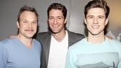 Matthew Morrison at Catch Me If You Can  Norbert Leo Butz  Matthew Morrison  Aaron Tveit