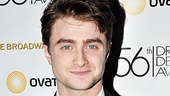 Daniel Radcliffe is delighted to be back on  Broadway in How to Succeed, and a Best Actor in a Musical nomination makes the return even sweeter.