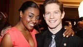 Patina Miller and Rory O'Malley may have scored Tony nominations with a little help from some divine intervention thanks to their religious-themed shows Sister Act and The Book of Mormon.