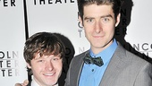 Broadway vets Bobby Steggert (Ragtime) and Drew Gehling (Jersey Boys) are looking sharp on opening night.