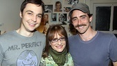 Broadway newcomers Jim Parsons and Lee Pace know they&#39;ve made it when they&#39;re posing with Patti! 