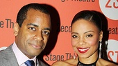 Daniel Breaker and Sanaa Lathan flirt up a storm on the Vera Stark stage, then cozy up for our camera on the red carpet.