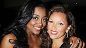 Nominee Patina Miller and host Vanessa Williams are pretty as a picture.