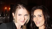 MTC 2011 Spring Gala  Lily Rabe  Laura Benanti