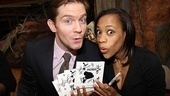 A gift from God! Mormon Tony nominees Rory O&#39;Malley and Nikki M. James are in awe of the musical&#39;s cast recording.  