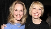The Collection & A Kind of Alaska nominee Lisa Emery pals around with The Divine Sister's Julie Halston.