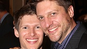Actors Lucas Steele and Christopher Sieber are thrilled for their off-Broadway show, The Kid, which was up for Outstanding Musical.