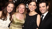 It's a banner night for Anything Goes' Laura Osnes, director/choreographer Kathleen Marshall, Sutton Foster and Colin Donnell; their show took top honors for musical revival!