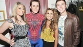 Spider-Man Idols  Lauren Alaina  Reeve Carney  Haley Reinhart  Scotty McCreery 