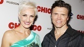 Chicago stars Amra-Faye Wright (Velma Kelly) and Brent Barrett (Billy Flynn) are having a blast sharing the stage with Christie Brinkley.