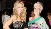 Christie Brinkley and co-star Amra-Faye Wright (who plays Velma Kelly) show off their fashionable outfits.