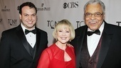 Looking great, Jones family! Flynn Earl Jones and his parents, Cecilia Hart and Driving Miss Daisy star James Earl Jones.