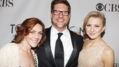 Broadway threesome Andrea McArdle, Christopher Sieber and Nina Arianda.
