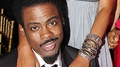 Inside the Tony Ball, Motherf**ker star Chris Rock celebrates with wife Malaak, co-star Annabella Sciorra and her date, singer Maxwell.